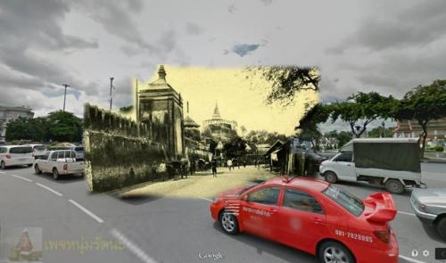 ไทยในอดีต_ถนนราชดำเนินกลาง