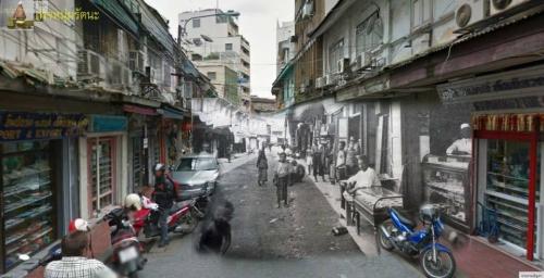 ไทยในอดีต_บนนถนนสายสำคัญในอดีต ถนนวานิช ๑ ช่วงวัดเกาะ